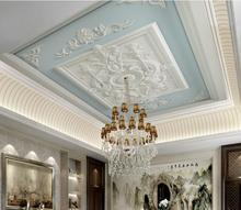 3D ceiling stereoscopic wallpaper Custom papel de parede wallpapers