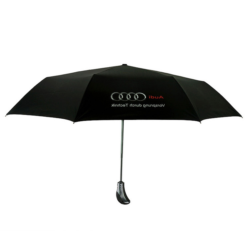 Fashion Blue Black For Audi Automatic Sun Umbrella Rain Women - Audi umbrella