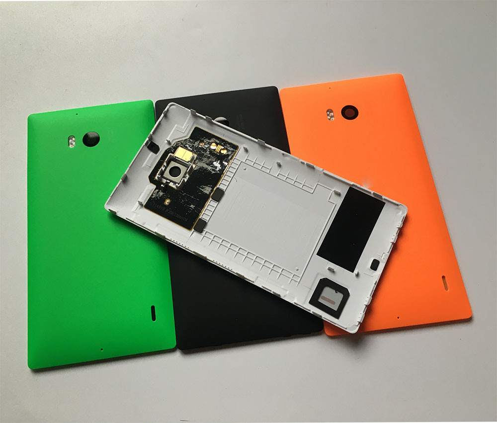 For Microsoft Lumia 930 Back Cover Case Nokia Battery Door Housing Shell With Nfc Camera Lens Replacement