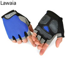 Lawaia Cycling Gloves Fingerless Half Finger Bike for Male or Female Summer Sports