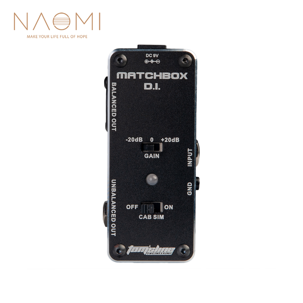 NAOMI AROMA Guitar Effect Pedal AMX 3 MATCHBOX D.I. Transfer Guitar Bass Signal Audio System Mini Analogue Effect  Guitrar Parts-in Guitar Parts & Accessories from Sports & Entertainment    1