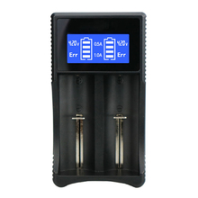 Get more info on the 2 slots Smart LCD USB Battery Charger for NIMH NICD AA AAA Batteries lithium battery Charger for 3.7V 18650 14500 16340 10440