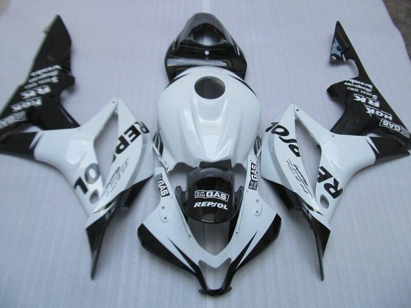 ABS full fairing kit for Honda Injection mold CBR600RR 07 08 fairings set CBR600 RR 2007 2008 white black REPSOL bodywork DC15