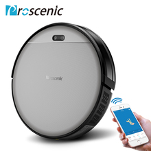 Proscenic 800T Robotic Vacuum Cleaner Alexa App Control 1800Pa Strong Suction Big Water Tank, Sweep and Mop 2 in 1 Robot Vacuum
