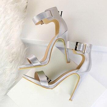 Γυναικείες γόβες Classic Satin 11cm Γόβες Παπούτσια MSOW