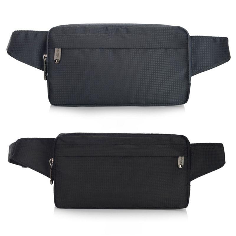 Fashion New Men Nylon Belt Bum Waist Phone Pouch Fanny Pack Male Multifunction Casual Crossbody Shoulder Sport Zip Chest Bag