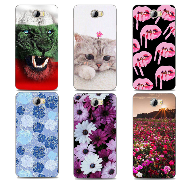 newest 37540 9a598 US $3.19 20% OFF|TPU Soft Phone Cases for Huawei Y5 II Y5ii Y52 Cover for  huawei y5 ii y5II 5.0