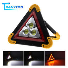 Portable Emergency Light Warning Flood Bright COB LED Taillight Car Repair Work Lamp Safety Road Flare Lights