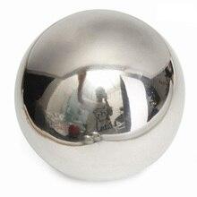 304 нержавеющая сталь зеркальная сфера-шар домашнее украшение садового орнамента, 5 наборов шаров, шаров, плавающих пруда(6