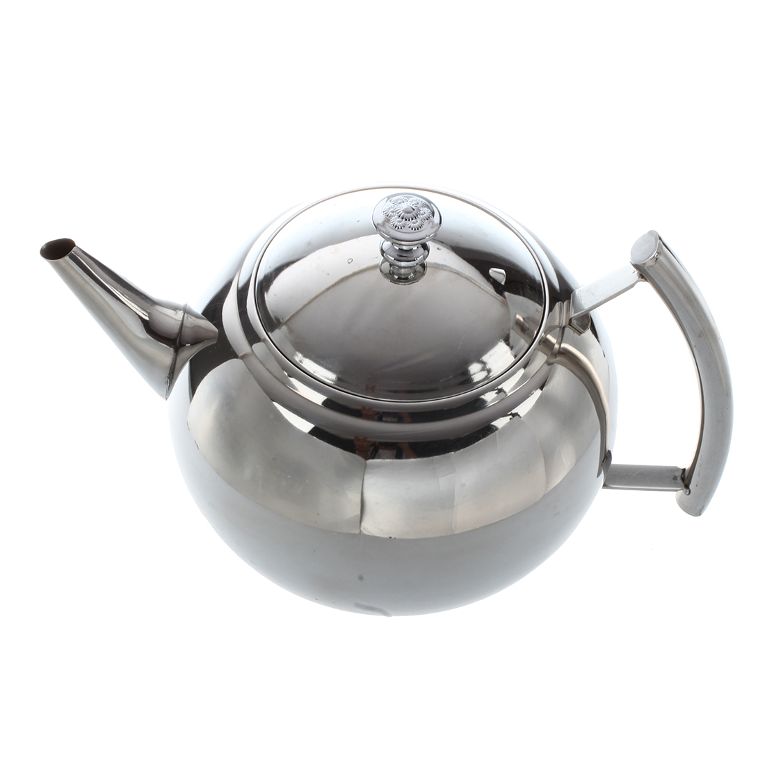2000ML Durable Stainless Steel Teapot Coffee Pot Kettle With Filter Large Capacity Puer Tea Bag Green Oolong Tea Tieguanyin Cha