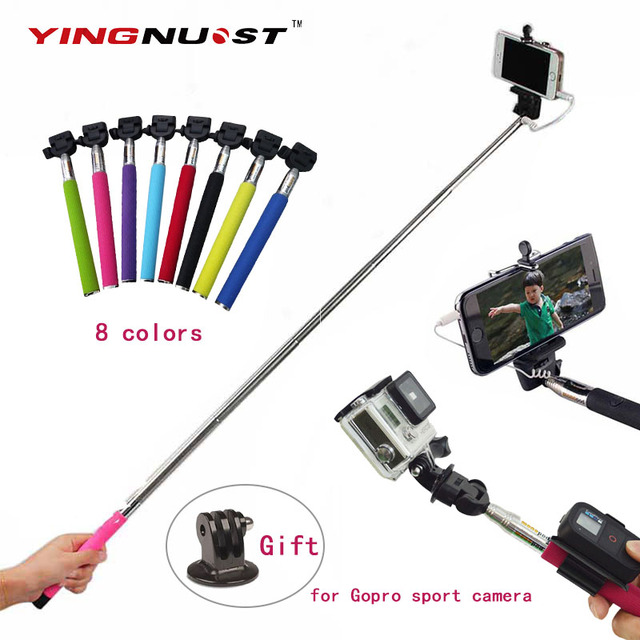 Tripod Adapter For Iphone Samsung Android For Gopro Sport Camera