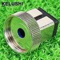KELUSHI Fuente adaptador de conversión adaptador de cabeza de cabeza de intercambio interfaz SC de fibra óptica medidor de potencia óptica envío rápido