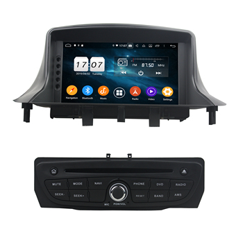 DSP 4GB RAM Octa Core 1 din 7 Android 9.0 Car DVD Player for Renault Megane III Fluence 2009 2010 2011 2012 2013 2014 2015 2016 image