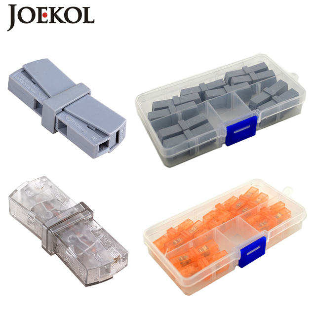 10pcs/box JK 20(wago 224 201) Single 1 pin cable wire connecting for ...