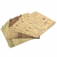 6 patrones de papel de doble cara origami artesanal 60 hojas DIY papeles doblados Vintage Clipbook tarjetas de papel regalos embalaje papel Decoración