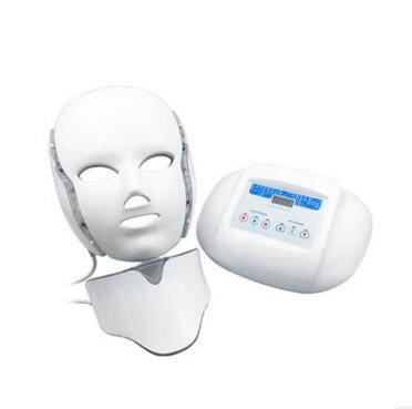 The new color light mask led photon beauty instrument of red and blue needle free cosmetic whitening mask multifunctional photor replaceable head of household hair whitening beauty equipment strong pulse photon permanent hair never whitening