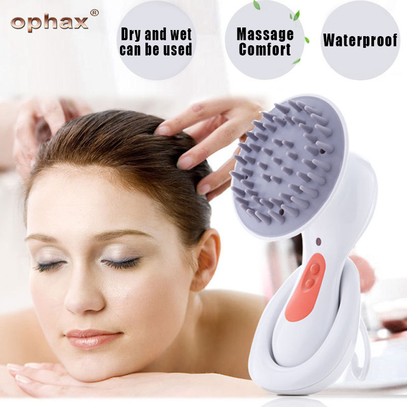 OPHAX Electric Head Scalp Massager Brain Relaxation Relax Massager Headache Stress Relieve Prevent Hair Loss Health Care Product