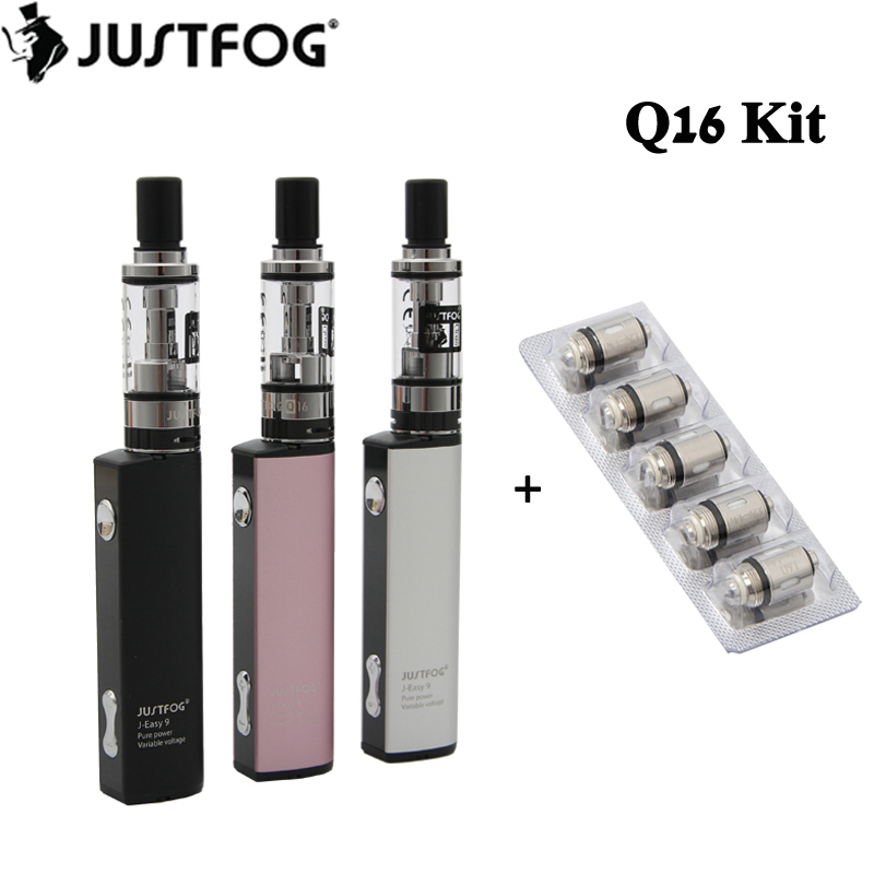 Original Justfog Q16 Starter Kit 900mah Battery With 1.9ml Q16 Clearomizer Tank Electronic Cigarette Vape Pen Vaporizer Kit #1