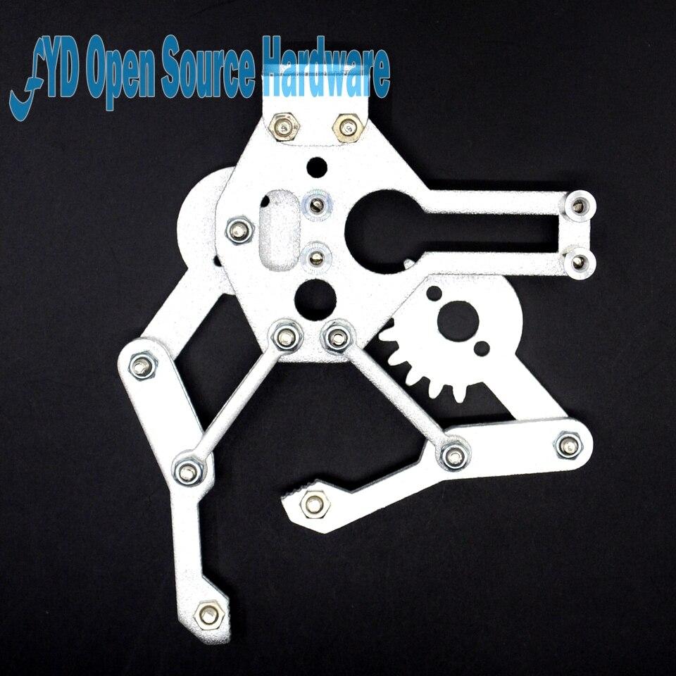 Metal robot gripper robot mechanical claws optional MG995 servosMetal robot gripper robot mechanical claws optional MG995 servos