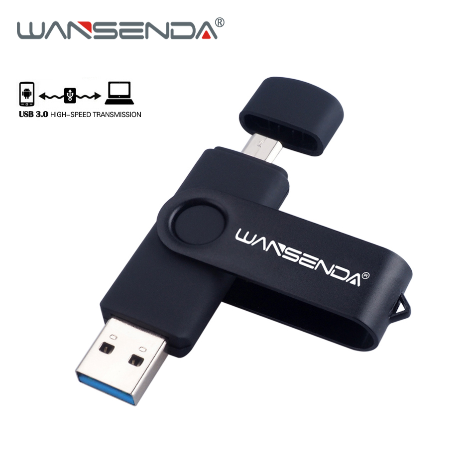 New USB 3.0 Android OTG Pen Drive 128gb High Speed USB Flash Drive 16gb 32gb 64gb Smart phone Pendrive Micro USB Memory Stick