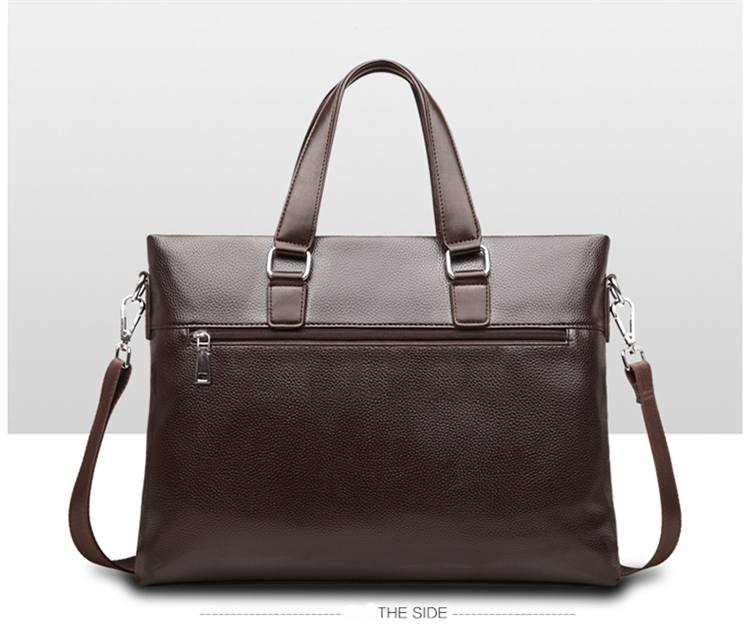 HTB1ZWRQyNSYBuNjSsphq6zGvVXa9 Promotions 2019 New Fashion Bag Men Briefcase PU Leather Men Bags Business Brand Male Briefcases Handbags Wholesale High Quality