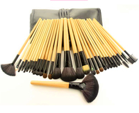 Clearance Sal 32Pcs Print Logo Makeup Brushes Professional Cosmetic Make Up Brush Set The Best Quality