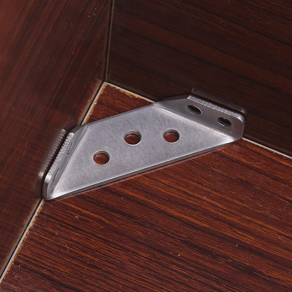 Furniture Table and Chair Accessories-A Stainless Steel Corner Code Fixed at Right Angles