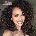 Бразильские Волосы Девственницы Вьющиеся Weave Человеческих Волос 3 Связки 7А 100% Необработанные Глубоко Вьющиеся Бразильские Волосы Девственницы Unice Волос Компании