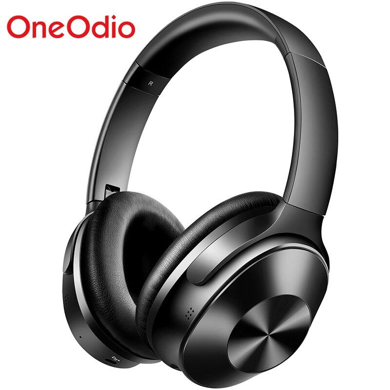 OneOdio A9 Originais Fones de Ouvido Bluetooth-33dB Active Noise Cancelling Dobrável Over-Ear Fone de Ouvido Com Microfone Para Telefones Sem Fio