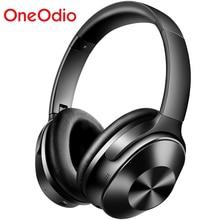 OneOdio orijinal A9 aktif gürültü iptal kablosuz mikrofonlu kulaklık Stereo aşırı kulak Bluetooth kulaklık telefonları için
