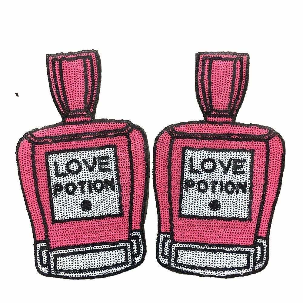2PCS LOVE POTION Патчі для пляшок для - Мистецтво, ремесла та шиття