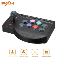 PXN 00082 Arcade Joystick For PS4 For Xbox One USB Arcade Stick Rocker For PC For