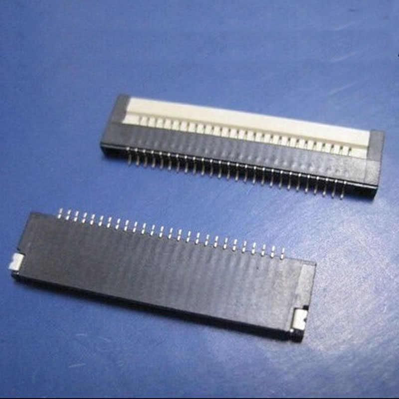 5 pcs แล็ปท็อปแป้นพิมพ์แล็ปท็อปซ็อกเก็ตเชื่อมต่อ LCD 0.8 ระยะห่าง 26/30/32/34 Pin