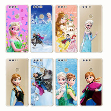 Castle Princess White Snow Prince Cartoon Phone Case Back Cover Silicone Soft for Huawei Mate 9 10 20 Pro lite x Honor 8