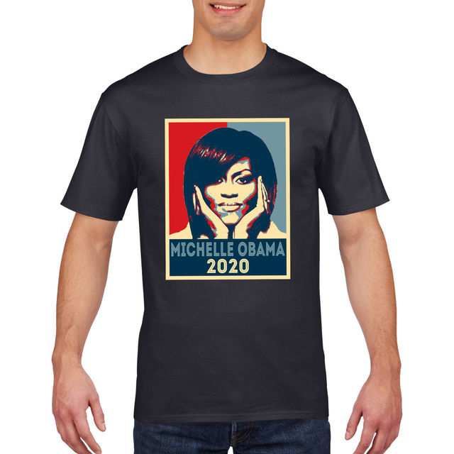 6356566e Michelle Obama 2020 T-Shirt America Election President Trump USA T Shirt Tee  809 Classic Quality High t-shirt
