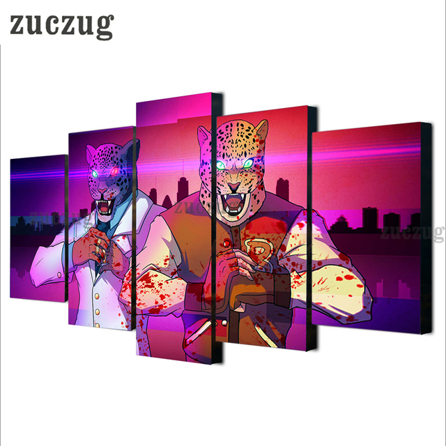 Modern Hotline Miami Wiki Art Picture Canvas Painting Print Hotline