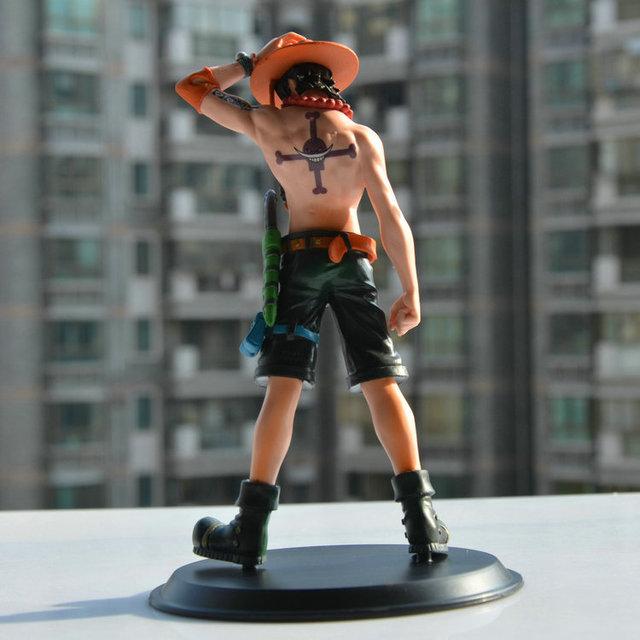 Anime One Piece Portagas D Ace Monkey.D.Luffy PVC Action Figure