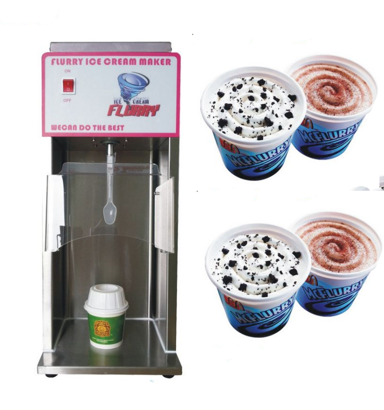 Free shipping McFurry ice cream mixer, soft ice cream machine yogurt maker soft ice cream machine commercial 3 color icecream maker 32l ship by sea free
