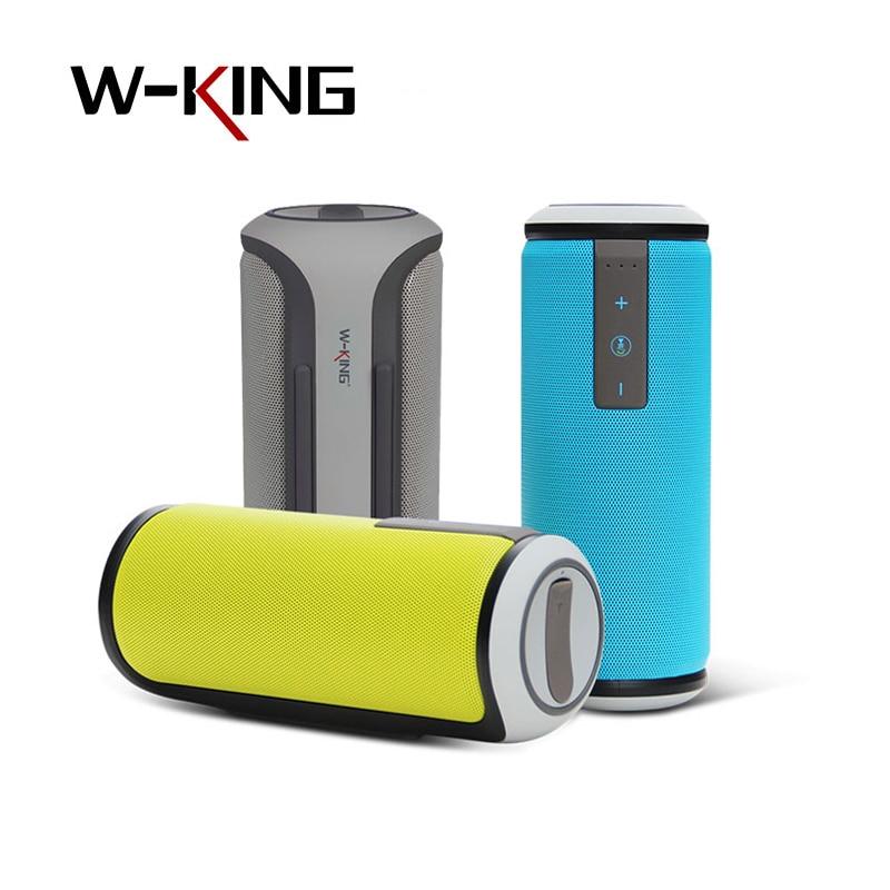 W-King X6 Wireless Speaker HIFI Waterproof Bluetooth CSR4.0 TF Card Speaker Mini Portable Outdoor Bicycle Sport Stereo for Phone cs l01 portable mini car wireless bluetooth speaker w tf card slot black white