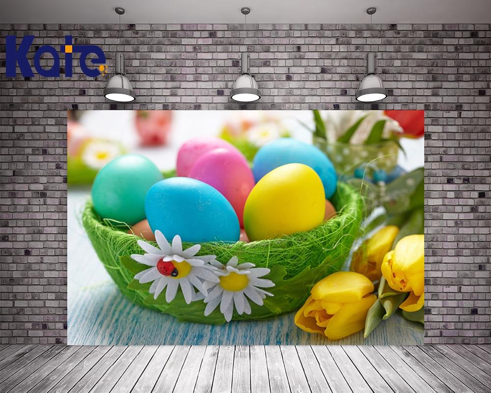 200Cm*150Cm Easter Photography Backdrops Tulip Basket Eggs Photo Backdrops Easter Sunday Zj easter day basket branch bunny photo studio background easter photography backdrops