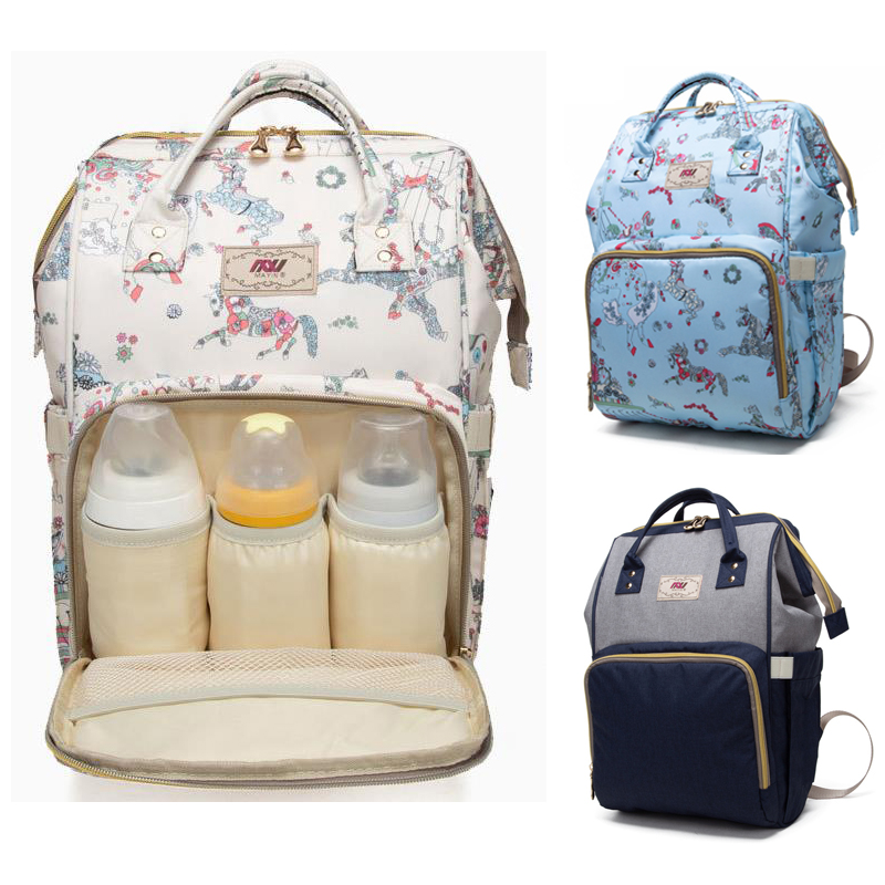 Waterproof Anti Thef Diaper Bag for Mommy Maternity Nappy Backpack Printing Baby Infant Organizer Nursing Changing Bag to CareWaterproof Anti Thef Diaper Bag for Mommy Maternity Nappy Backpack Printing Baby Infant Organizer Nursing Changing Bag to Care