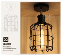 New Vintage Industrial Retro Ceiling Light Iron Material Outdoor Lighting Modern Led Ceiling Lights For