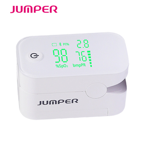 Image 2 - Wireless Bluetooth Finger Pulse Oximeter HD LED Display Fingertip Pulsioximetro android iSO Phone APP Oximetro de pulso de dedo