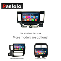 Panlelo Android 7.1 GPS Navigation BT Steering Wheel Control 2 Din For Mitsubishi ASX Outlander Lancer ex Radio Car Stereo