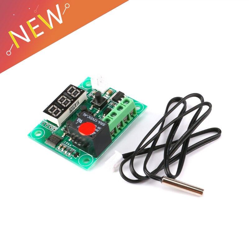 W1209 Dc 12 V Led Digital Display Thermostat Temperatur Regler Schalter Control Relais Miniatur Ntc Sensor Modul Um Der Bequemlichkeit Des Volkes Zu Entsprechen Messung Und Analyse Instrumente Werkzeuge