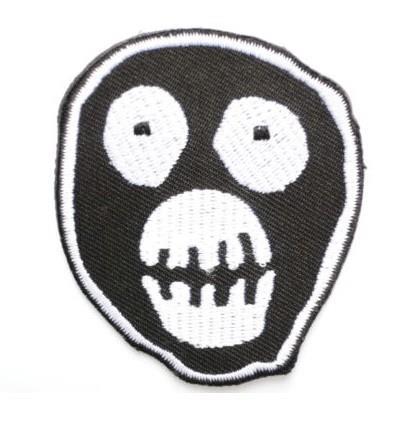 Le puissant film de Logo de masque de Boosh brodé nouveau fer sur et coudre sur le patch de conception personnalisée d'insigne de Punk de Rock frais disponible-in Patches à coudre from Maison & Animalerie    1