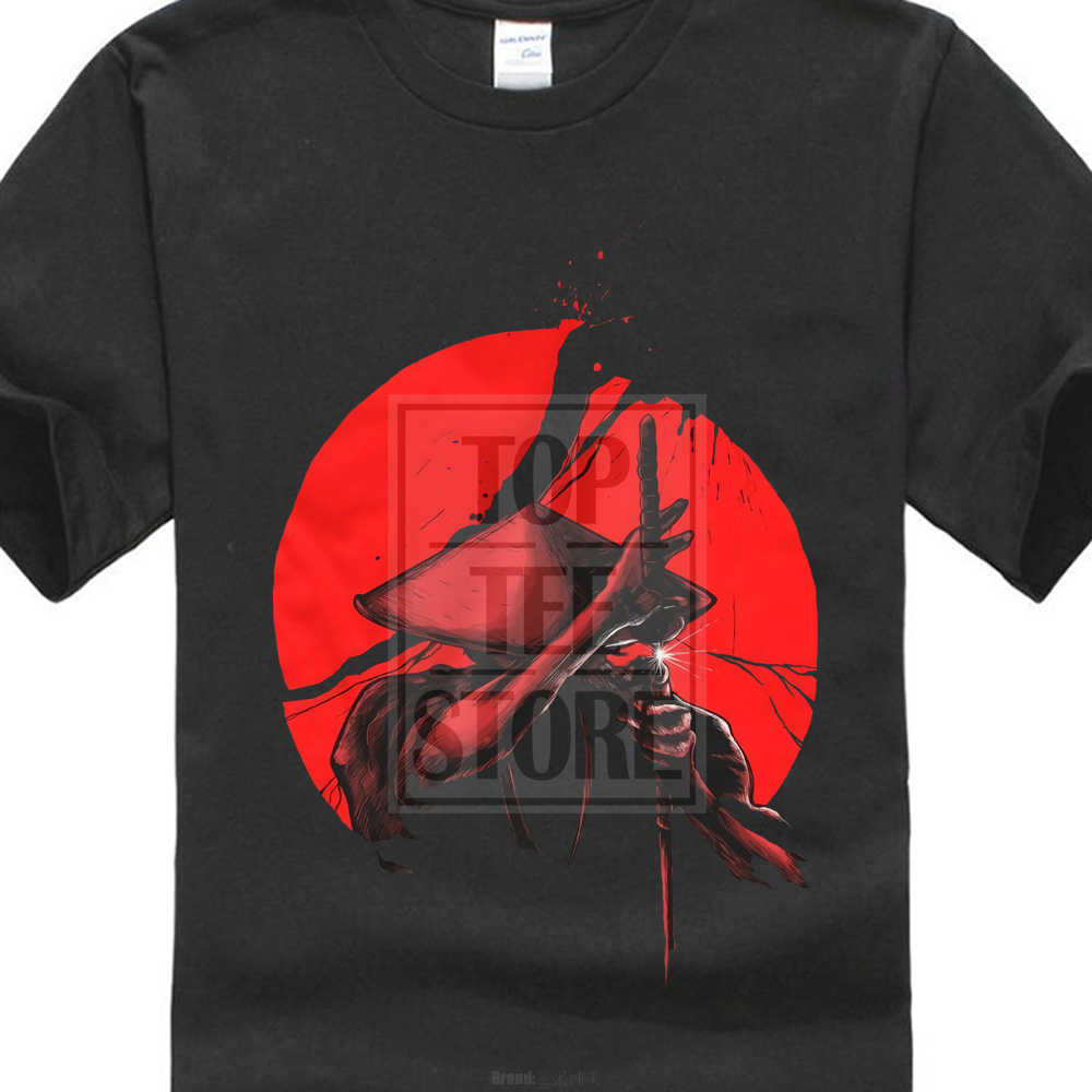 60847af5a Samurai Slice T Shirt Top Japan Warrior Japanese Sword Katana Coolie Rice  Hat