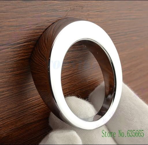 New Modern Round Chrome 16mm Furniture Hardware Handles