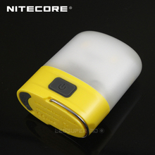 Nitecore LR10 250 لومينز مايكرو USB قابلة للشحن جيب فانوس التخييم المدمج في 1200mAh بطارية ليثيوم أيون