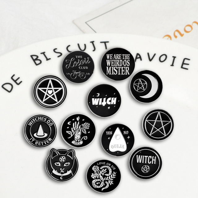 Collect Various Round Punk witch Coin styles Badges Brooches Computer, Office & Security Unisex 8d255f28538fbae46aeae7: Style 1|Style 10|Style 11|Style 12|Style 2|Style 3|Style 4|Style 5|Style 6|Style 7|Style 8|Style 9
